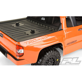 Proline Racing PRO 347600 Toyota Tundra TRD Pro True Scale Clear Body for Slash 2wd, Slash 4x4 & PRO-Fusion SC 4x4 (with extended body mounts)