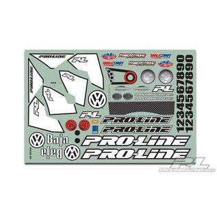Proline Racing PRO 323863 Volkswagen Full Fender Baja Bug Clear Body for Slash 2wd & Slash 4x4