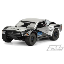 Proline Racing PRO 344100 Ram 2500 Clear Body for PRO-Fusion SC 4x4, Slash 2wd, Slash 4x4, ProSC10 & SCTE