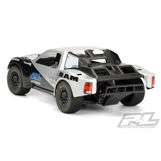 Proline Racing PRO 344100 Ram 2500 Clear Body for PRO-Fusion SC 4x4, Slash 2wd, Slash 4x4, ProSC10 & SCTE