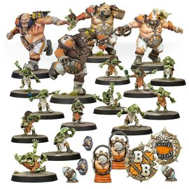 GAMES WORKSHOP WAR 99120913001 BLOOD BOWL FIRE MOUNTAIN GUT BUSTERS TEAM