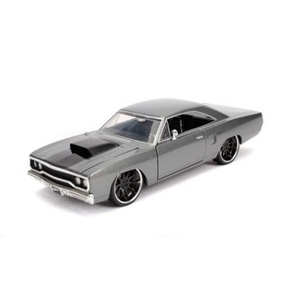 JADA TOYS JAD 30745 FAST AND FURIOUS DOM'S PLYMOUTH ROAD RUNNER 1/24 DIECAST