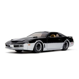 "JADA TOYS JAD 31115 Jada 1/24 ""Hollywood Rides"" Knight Rider K.A.R.R. with lights DIE CAST"