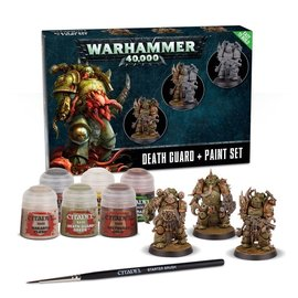 GAMES WORKSHOP WAR 99170102003 EASY TO BUILD DEATH GUARD AND PAINT SET