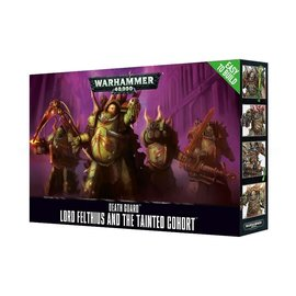GAMES WORKSHOP WAR 99120102081 EASY TO BUILD DEATH GUARD LORD FELTHIUS AND THE TAINTED COHORT