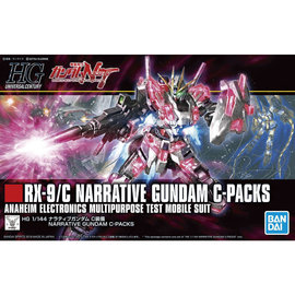 BANDAI BAN 5056760 NARRATIVE GUNDAM C PACKS