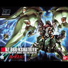 BANDAI BAN 5058263 1/144 #99 NZ-666 Kshatriya Gundam HG