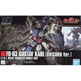 BANDAI BAN 5056751 1/144 #222 Gustav Karl UC Ver Gundam Unicorn HG