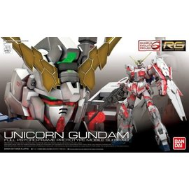 BANDAI BAN 216741 1/144 Unicorn Gundam Gundam UC Bandai RG