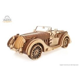 UGEARS UGR 70052 ROADSTER VM-01 WOOD KIT ADVANCED 437 PIECES