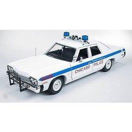 AUTOWORLD AMM 987 CHICAGO PD 1974 DODGE MONACO 1/18 DIECAST