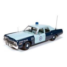 AUTOWORLD AMM 1023 1/18 1974 Dodge Monaco Pursuit (Mass State Police)