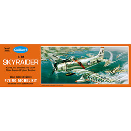 GUILLOWS GUI 904 A-1H SKYRAIDER WOODEN MODEL KIT