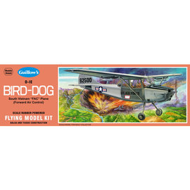 GUILLOWS GUI 902 0-1E BIRDDOG FAC WOODEN MODEL KIT