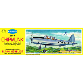 GUILLOWS GUI 903 DHC-1 CHIPMUNK BALSA WOOD MODEL KIT