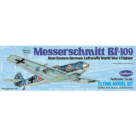 GUILLOWS GUI 505 MESSERSCHMITT BF109 WOOD KIT