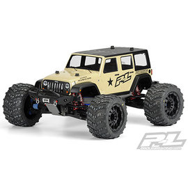 Proline Racing PRO 340500 Jeep Wrangler Unlimited Rubicon Clear Body T/E MAXX REVO 3.3 SAVAGE/SUMMIT