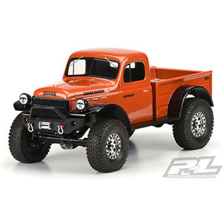 Proline Racing PRO 349900 1946 Dodge Power Wagon Clear Body for 12.3in (313mm)