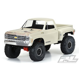 Proline Racing PRO 352200 1978 CHEVROLET K-10 CLEAR BODY CAB & BED 12.3""