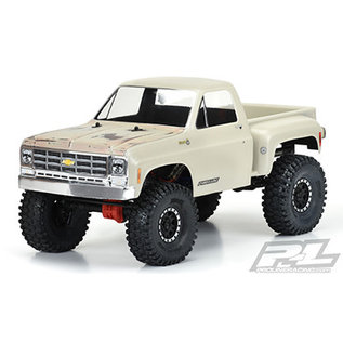 """Proline Racing PRO 352200 1978 CHEVROLET K-10 CLEAR BODY CAB & BED 12.3"""""""