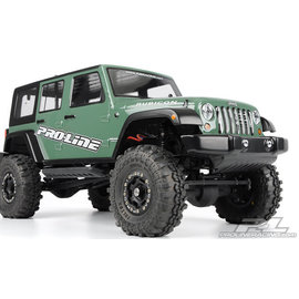 "Proline Racing PRO 333600 JEEP RUBICON UNLIMITED 12.3"" WHEELBASE SCALE BODY"