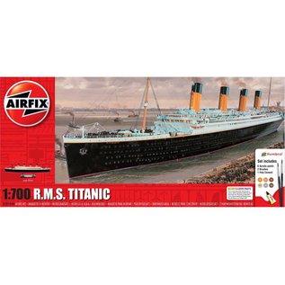 AIRFIX AIR A50164A RMS TITANIC COMPLETE MODEL SET 1/700