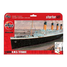 AIRFIX AIR A55314 1/1000 RMS TITANIC COMPLETE MODEL SET
