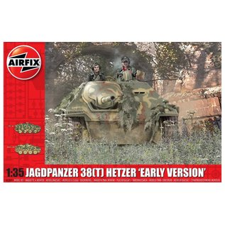 AIRFIX AIR A1355 JAGDPANZER 38 TONNE HETZER EARLY VERSION MODEL KIT 1/35