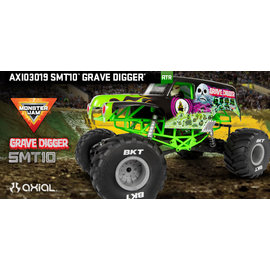 AXIAL RACING AXI 03019 SMT10 GRAVEDIGGER READY TO RUN