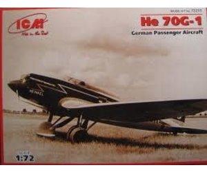 ICM ICM72233 1:72-He 70G-1 German Passenger Aircraft