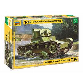 ZVEZDA ZVE 3542 T-26 TANK 1/35 MODEL KIT