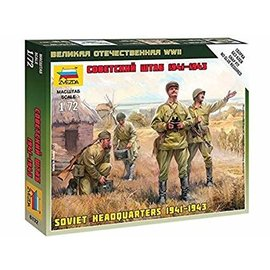 ZVEZDA ZVE 6132 1/72 Soviet Army Headquarters 1941-1943 MODEL KIT