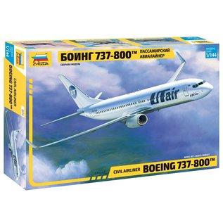 ZVEZDA ZVE 7019 BOEING 737-800 1/144 MODEL KIT