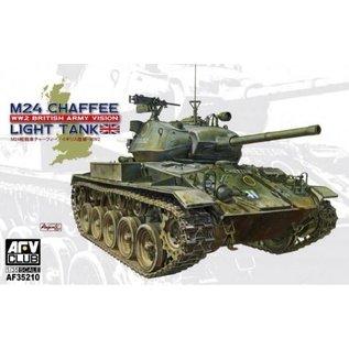 AFV 35210 M24 CHAFFEE LIGHT BRITISH ARMY TANK 1/35 PLASTIC MODEL