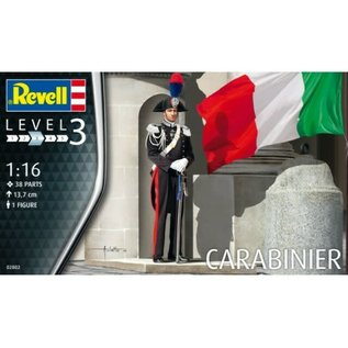 REVELL GERMANY REV 02802 1/16 Carabiniere FIGURE MODEL KIT