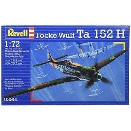 REVELL GERMANY REV 03981 1/72 Focke Wulf Ta 152H MODEL KIT