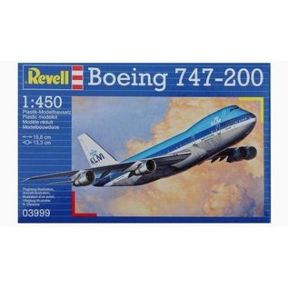 REVELL GERMANY REV 03999 1/450 Boeing 747-200 Jumbo Jet MODEL KIT