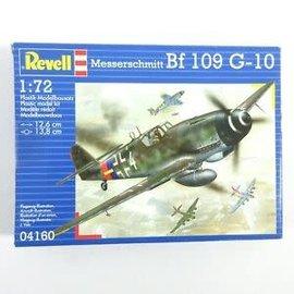 REVELL GERMANY REV 04160 MESSERSCHMITT BF109 G10 1/72 MODEL KIT