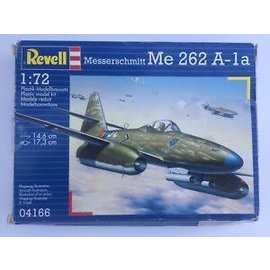 REVELL GERMANY REV 04166 MESSERSCHMITT ME262 PLANE 1/72 MODEL KIT
