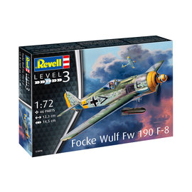 REVELL GERMANY REV 03898 FOCKEWULF FW190 F-8 1/72 MODEL KIT