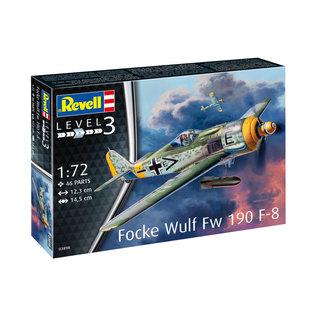 REVELL GERMANY REV 03898 FOCKEWULF FW190 F-8 1/72 MODEL KIT
