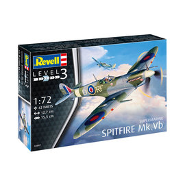 REVELL GERMANY REV 03897 SPITFIRE MK VB 1/72 MODEL KIT