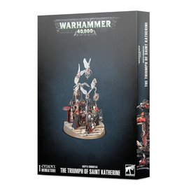 GAMES WORKSHOP WAR 99120108037 ADEPTA SORORITAS THE TRIUMPH OF SAINT KATHERINE