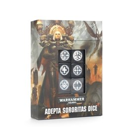 GAMES WORKSHOP WAR 99220108004 ADEPTA SORORITAS DICE