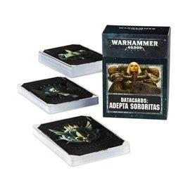 GAMES WORKSHOP WAR 60220108005 DATACARDS ADEPTA SORORITAS