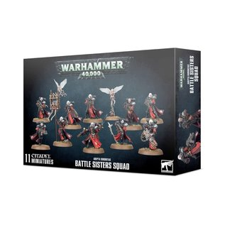 GAMES WORKSHOP WAR 99120108033 ADEPTA SORORITAS BATTLE SISTERS SQUAD
