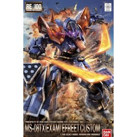 BANDAI BAN 204882 1/100 Efreet Kai Gundam The Blue Destiny RE