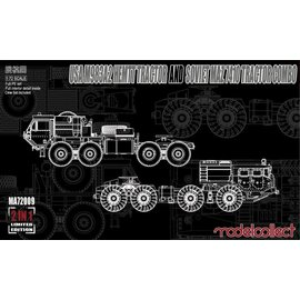 MODELCOLLECT MDC MA72009 USA M983A2 HEMIT TRACTOR AND SOVIET MAZ 7410 TRACTOR COMBO