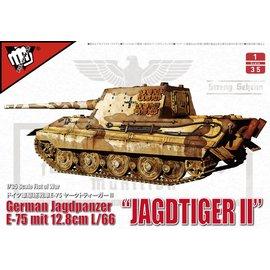 MODELCOLLECT MDC UA35003 GERMAN JAGDPANZER (JAGDTIGER II) MODEL KIT
