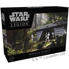 FANTASY FLIGHT FFG SWL58 IMPERIAL BUNKER BATTLEFIELD EXPANSION